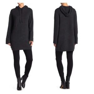 360 CASHMERE Alexina Hooded Sweater Dress Size